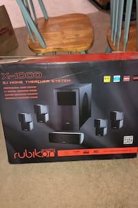 Rubikon X-100 home theater system never been used Annapolis, 21401