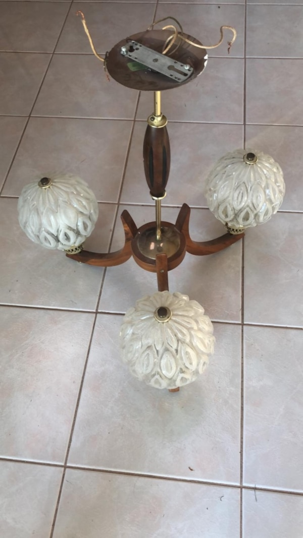 Various ceiling lights and fans