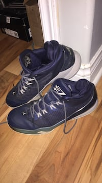 Pair of blue-and-white air jordan cp3 shoes Lower Sackville, B4E 2W8