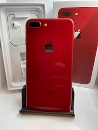 64gb Unlocked Red iPhone 8 Plus with Accessories