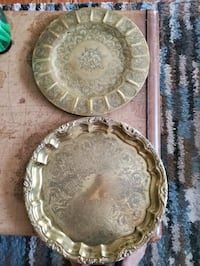 Two brass serving trays  Saint Charles, 63303