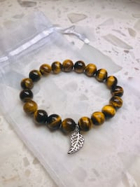 NEW Stone Bracelet Tiger Eye