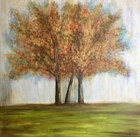 New Original Large Tree Canvas Art Madison