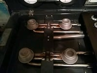 black 4-burner gas range Bakersfield, 93308