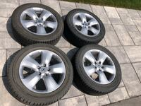 Acura RDX winter tire and rim package  Milton, L9T 8B5