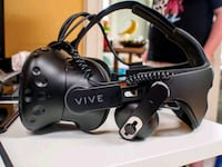 Htc vive/ deluxe audio strap/leap device