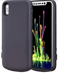 New 3800mAh iPhone X/Xs Battery Case, Battery Charging Case (Black)
