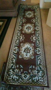 brown and white floral runner rug Los Angeles, 90037