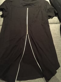New women's short sleeve top,black, size xs 798 km