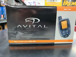 New Avital made by viper paging car alarm WITH INSTALLATION