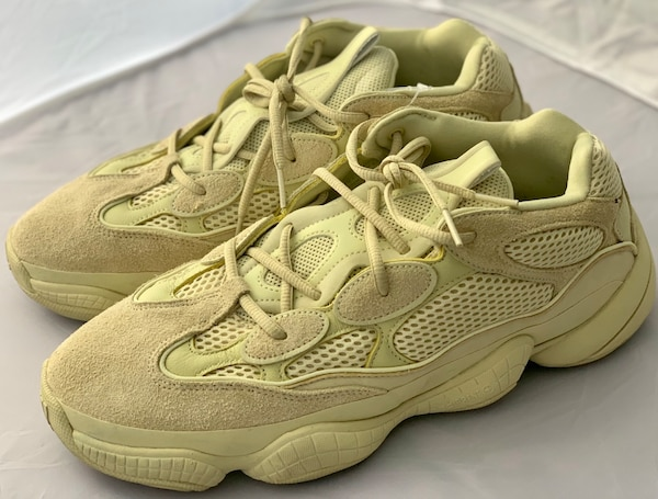 timeless design a54e5 d51e8 Yeezy 500 Supermoon Yellow Sz11.5