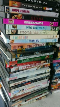 219 dvds only $100. Pick up in lake alfred Lake Alfred, 33850