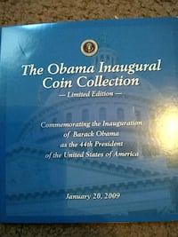 The Obama inaugural coin collection limited editio Indianapolis, 46208