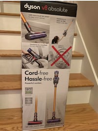 Dyson V8 absolute cordless brand New sealed  Houston, 77057
