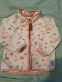 rosa och vit blommig zip-up hoodie Gothenburg, 424 39