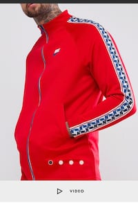 Red and white nike zip-up Winnipeg, R2M 3A5