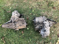 Transfer case one is automatic amd rhe other manuel Stephens City