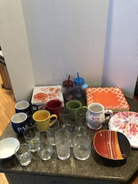Lot of 35 Random Dishes $15 for all Manassas