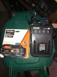 Ridged battery and charger