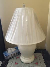 Beautiful off white lamps $25 each OBO Calgary, T3J 3N1