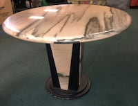Round Marble table  Vancouver, V6B 1G1