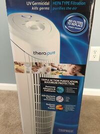 THERAPURE TOWER AIR PURIFIER IN BOX Dover, 19904