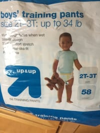 boy's size 2t-3t training pants pack Rochester