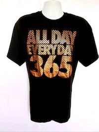 TAKE THAT Mens Black & Gold ALL DAY EVERYDAY 365 T Shirt Size XL Palmdale, 93551