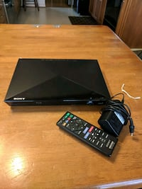 SONY BLU-RAY DISC/DVD PLAYER BDP-BX320 Silver Spring, 20906