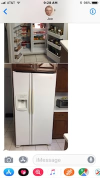 white side-by-side refrigerator with dispenser Potomac, 20854