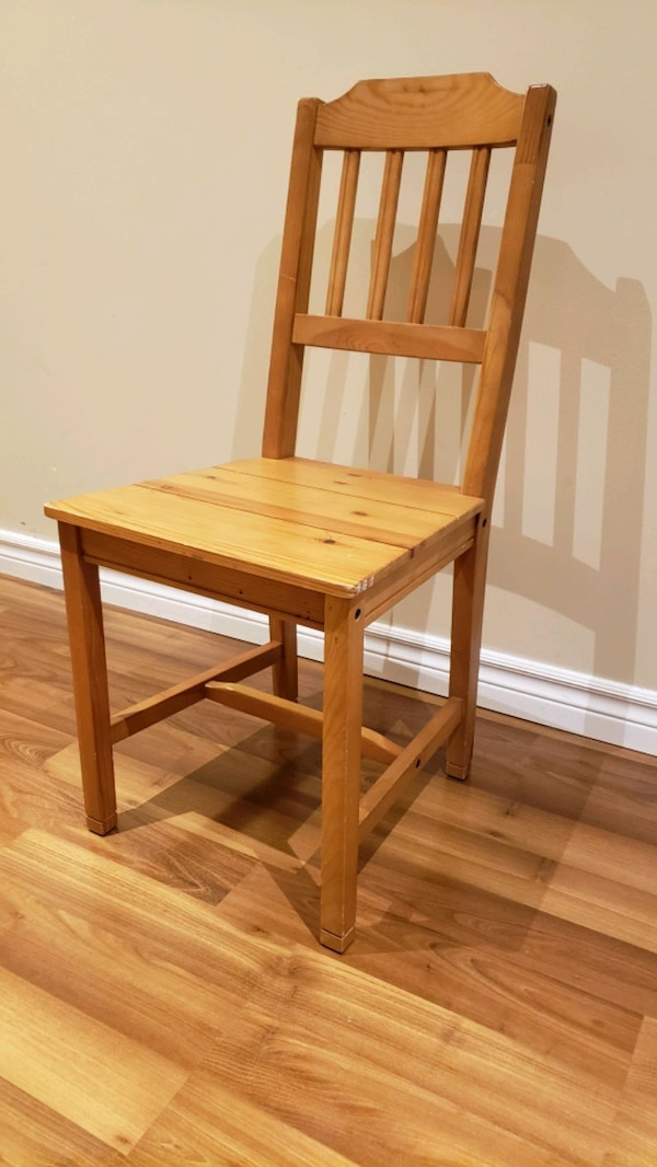 Wood  chairs - antique stain 2
