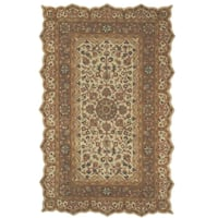 Masterpiece Taupe 10 ft. x 14 ft. Area Rug 73 km