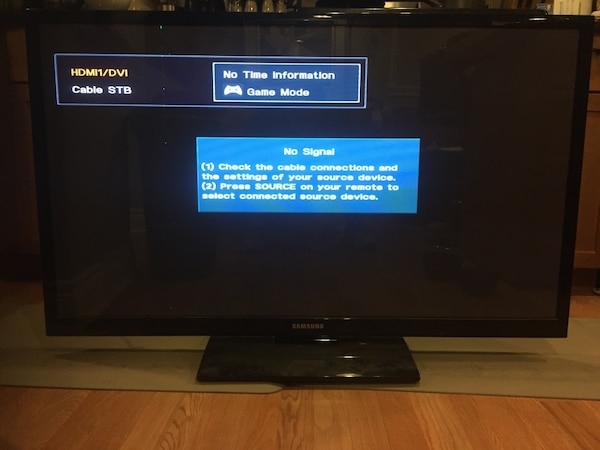 52 inch black Samsung plasma flat screen tv