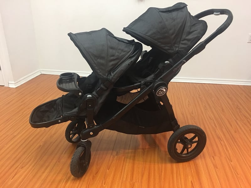 Baby Jogger City Select Deluxe Double Stroller -Charcoal 90443a67-c598-4046-aa31-fe88a53347d3