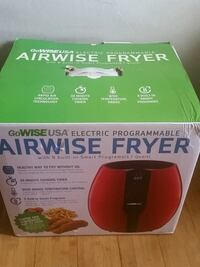 Airwise oil less fryer Winnipeg, R2R 0H2