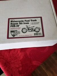 Motorcycle fuel tank repair kit