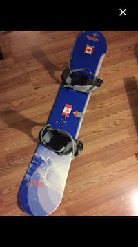 Ride snowboard and div123 bindings London, N6G 2S9