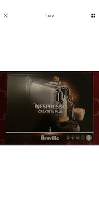 Nespresso creatista machine a cafe