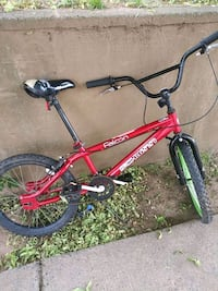 red and black Mongoose BMX bike Baltimore, 21225