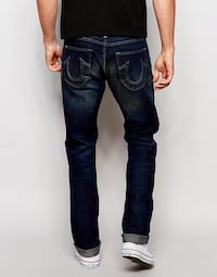 Two pairs of designer jeans: True Religion and RAW Toronto, M9A 1K6