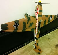 large 1/32 scale ww2 stuka bomber plane model as i Woodstock, 22664