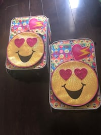 Emoji suitcase 2 available  Palmdale, 93550