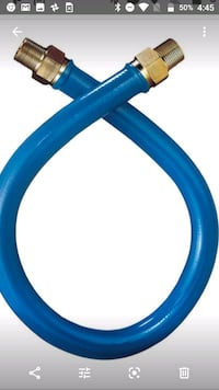 Dormont 1675BP48 Blue Gas Connector Hose™ 48""