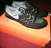 pair of black Nike running shoes Fontana, 92336