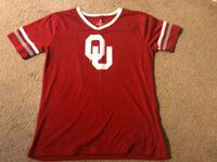 Girls OU sequin shirt   size 14-16 Broken Arrow, 74012