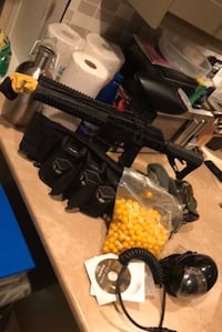 Empire TM-15 paintball plus Auto-reloader and misc. items Vancouver, V5M 1X4