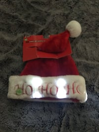 Light up Santa hat NEW Metairie, 70003