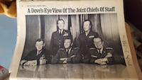 A Dove's-Eye View of The Join Chiefs of Staff poster