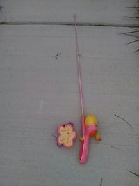Barbie Fishing Pole set