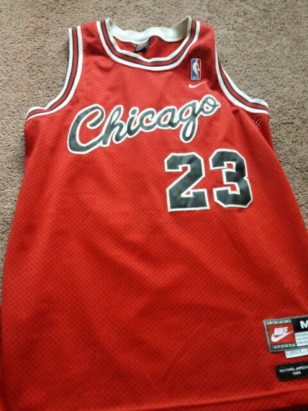 100% authentic 891c1 29cdf Michael Jordan 1984 Jersey